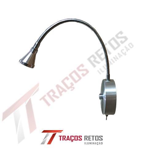 Arandela flexível c/ LED c/ L/D